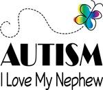 Autism Aunt I Love My Nephew T-shirts