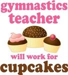 Funny Gymnastics Teacher T-shirts and Gifts