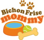 Bichon Frise Mommy Pet Mom Gifts and T-shirts