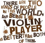 Funny Violin Player T-shirts and Gifts