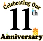11th Anniversary Party Gift T-shirts