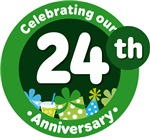 24th Anniversary Party Gift T-shirts