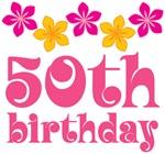 50th Birthday Hawaiian Party Gifts