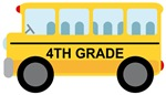 4th GRADE SCHOOL BUS GIFTS AND T SHIRTS