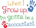 Future Accountant Kids T-shirts