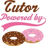 Tutor Powered By Doughnuts Gift T-shirts