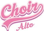 ALTO CHOIR MUSIC GIFT T-SHIRTS