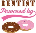 Dentist Powered By Doughnuts Gift T-shirts