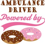 Ambulance Driver Powered By Doughnuts Gifts