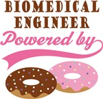 Biomedical Engineer Powered By Doughnuts Gift T-sh