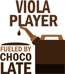 Viola Player Fueled By Chocolate Gifts