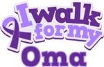 WALK FOR OMA ALZHEIMER'S T-SHIRTS