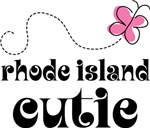 Pretty Rhode Island Cutie T-shirts and Gifts