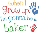 Future Baker Kids T-shirts