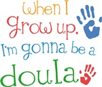 Future Doula Kids T-shirts