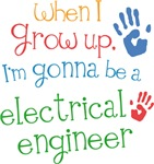 Future Electrical Engineer Kids T-shirts