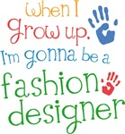 Future Fashion Designer Kids T-shirts