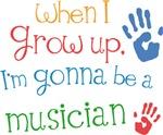 Future Musician Kids T-shirts