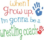 Future Wrestling Coach Kids T-shirts
