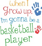 Future Basketball Player Kids T-shirts