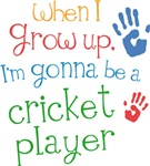 Future Cricket Player Kids T-shirts