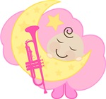 Trumpet Baby Music Clothing