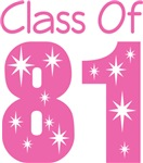 Class Of 1981 School T-shirts