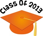 2013 School Class Graduation (Orange)