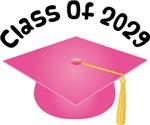 2029 School Class Graduation (Pink)
