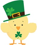 IRISH CHICK ST PATRICK'S DAY KIDS TEES