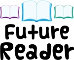 Future Reader Book T-shirts and Baby Gift