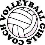 WOMENS & GIRLS Volleyball Coach T-shirts and Gifts