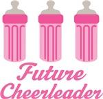 Future Cheerleader Baby T-shirts