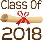 2018 School Class Diploma Design Gifts