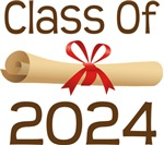 2024 School Class Diploma Design Gifts