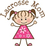 Lacrosse Mom T-shirt Gifts