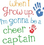 Future Cheer Captain Kids T-shirts