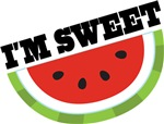 I'm Sweet Watermelon Kids Tee Shirts