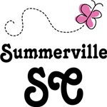 Summerville South Carolina Butterfly T-shirts
