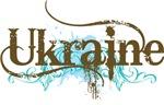 Ukraine Grunge T-shirts and Hoodies