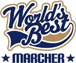 Marching Band World's Best Marcher Gifts