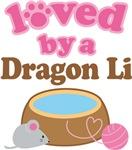 Loved By A Dragon Li Tshirt Gifts