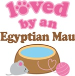 Loved By An Egyptian Mau Tshirt Gifts