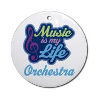 ORCHESTRA MUSIC ORNAMENTS
