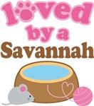 Loved By A Savannah Tshirt Gifts