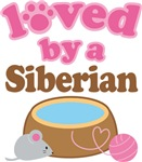 Loved By A Siberian Tshirt Gifts
