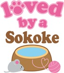 Loved By A Sokoke Tshirt Gifts