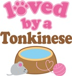 Loved By A Tonkinese Tshirt Gifts