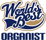 Organist (Worlds Best) Gift Items