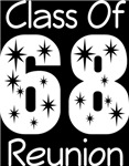 Class Of 1968 Reunion Tee Shirts